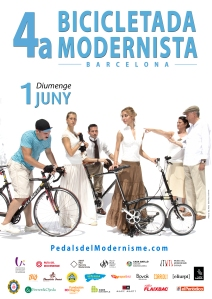 01 cartell 4a bicicletada modernista 2014 FINAL
