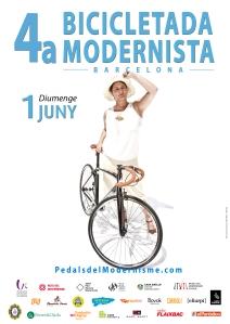 02 cartell 4a bicicletada modernista 2014 CRIS