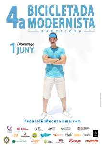 03 cartell 4a bicicletada modernista 2014 DAVID