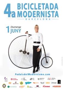 04 cartell 4a bicicletada modernista 2014 MARIA
