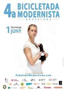 05 cartell 4a bicicletada modernista 2014 PATRY