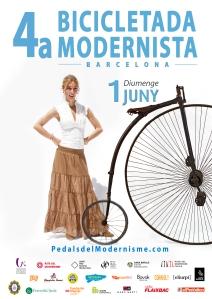 07 cartell 4a bicicletada modernista 2014 SONIA