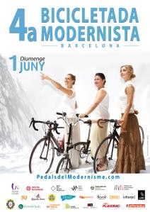 08 cartell 4a bicicletada modernista 2014 TRIO