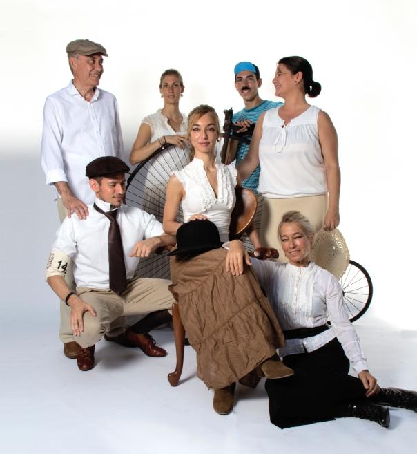 Família modernista - Bicicletada modernista 2014