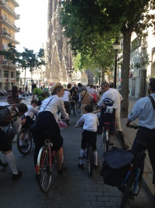 Sagrada Família - 4a Bicicletada Modernista