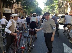 Parada - 4a Bicicletada Modernista Barcelona