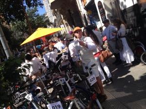 Parada tecnica by Moritz - 4a Bicicletada Modernista Barcelona